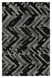 Kaleen Montage Mtg03-02 Black Area Rug