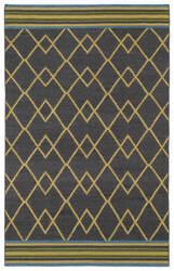 Kaleen Nomad Nom03-38 Charcoal Area Rug