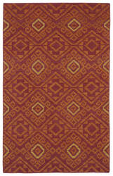 Kaleen Nomad Nom05-25 Red Area Rug