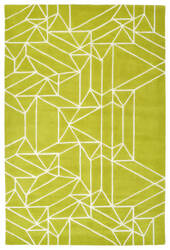 Kaleen Origami Org04-96 Lime Green Area Rug