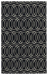 Kaleen Revolution Rev02-02 Black Area Rug