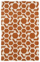 Kaleen Revolution Rev05-89 Orange Area Rug