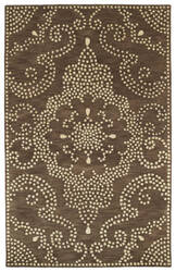 Kaleen Rosaic Roa02-49 Brown Area Rug