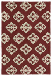 Kaleen Spaces Spa09-08 Cranberry Area Rug