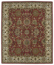 Kaleen Taj Taj05-25 Red Area Rug
