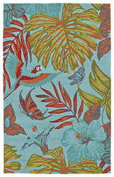 Kaleen Yunque Yun02-17 Blue Area Rug