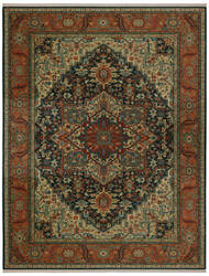Karastan Sovereign Maharajah Navy Area Rug