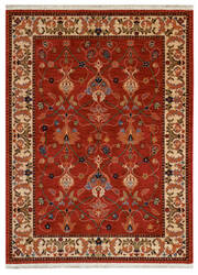 Karastan English Manor William Morris Red Area Rug