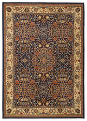 Karastan English Manor Sutton Dark Blue Area Rug
