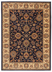 Karastan English Manor Oxford Navy Area Rug