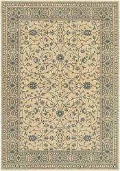 Karastan English Manor Somerest Lane Ivory Blue 2120-540 Area Rug