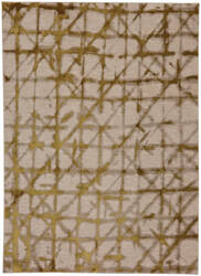Karastan Enigma Contact Brushed Gold Area Rug