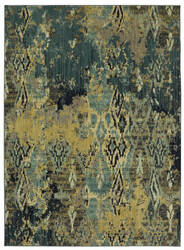 Karastan Intrigue Captivate Pale Green Area Rug