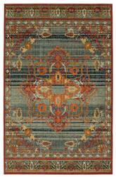 Karastan Vintage Tapis Left Bank Garnet Area Rug