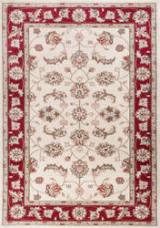 Kas Avalon 5613 Ivory - Red Area Rug