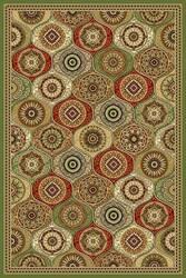 Kas Cambridge Mosaic Panel Multi 7345 Area Rug