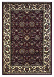 Kas Cambridge 7306 Red/Ivory Area Rug