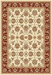 Kas Cambridge Kashan 7312 Ivory Red Area Rug