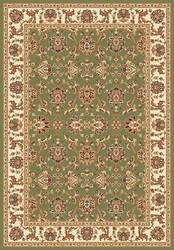 Kas Cambridge Kashan 7314 Green Ivory Area Rug