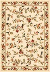 Kas Cambridge Floral Vine 7331 Ivory Area Rug