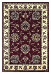 Kas Cambridge 7340 Red/Ivory Area Rug