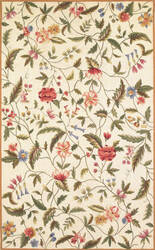 Kas Colonial Springtime Views Ivory 1783 Area Rug