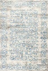 Kas Crete 6503 Ivory-Blue Area Rug
