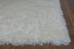 KAS Fina 550 Ivory Silky Shag Area Rug