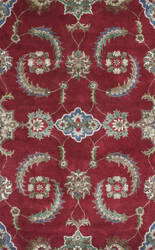 KAS Florence 4587 Ruby Allover Mahal Area Rug