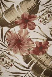 Kas Horizon 5710 Ivory Hibiscus Area Rug