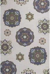 KAS Horizon 5721 Natural Mosaic Area Rug