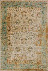 Kas Jasmine 3760 Ivory-Blue Area Rug