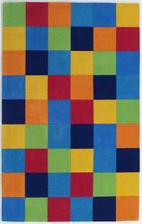 KAS Kidding Around Boys 416 Color Blocks Area Rug