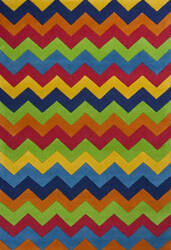 KAS Kidding Around 444 Cool Ziggy Zaggy Area Rug