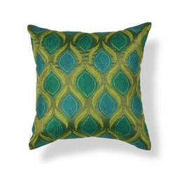 Kas Tribeca Pillow L107 Teal - Green