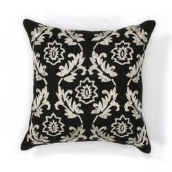 Kas Finesse Pillow L118 Black - White