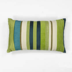 Kas Stripes Pillow L169 Teal - Blue