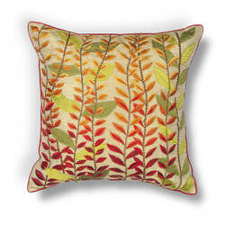 Kas Leaves Pillow L172 Autumn