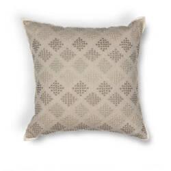 Kas Diamonds Pillow L185 Taupe