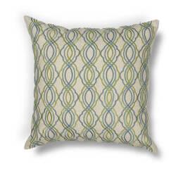 Kas Waves Pillow L195 Blue - Green