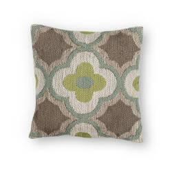 Kas Filigree Pillow L230 Taupe - Sage