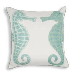 Kas Pillow L267 Aqua