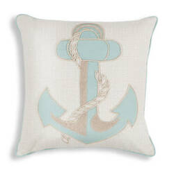 Kas Pillow L269 Aqua