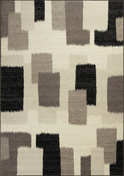 Kas Reflections 7413 Black Area Rug