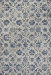 KAS Reflections 7425 Ivory/Blue Kashia Area Rug