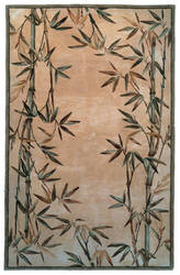 Kas Sparta Bamboo Border Ivory 3146 Area Rug