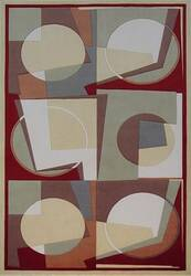 KAS Tate Elements 8514 Gold Area Rug