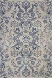 Kas Zarepath 7507 Ivory - Blue Area Rug