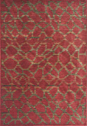 KAS Zen 5059 Earth Red Pebbles Area Rug