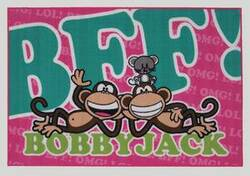 Fun Rugs Bobby Jack BFF-Text BJ-23 Multi Area Rug
